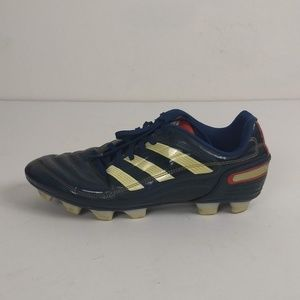 Adidas Firm Ground Soccer Cleats Size 9 Run Small
